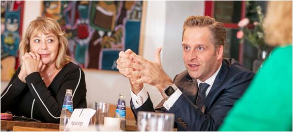 Met de minister van VWS in gesprek over de Netwerkgids